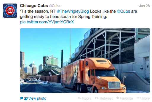 chicago cubs twitter
