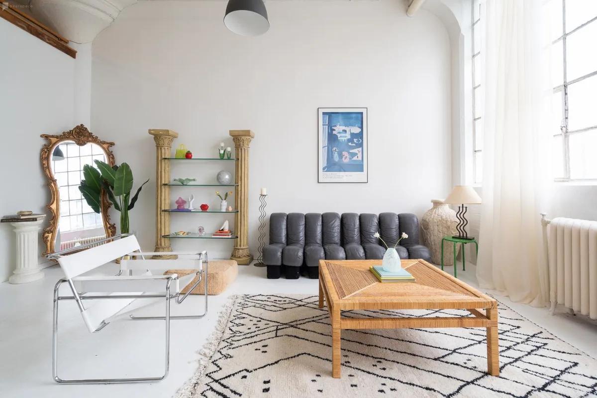 quirky minimalist studio in toronto