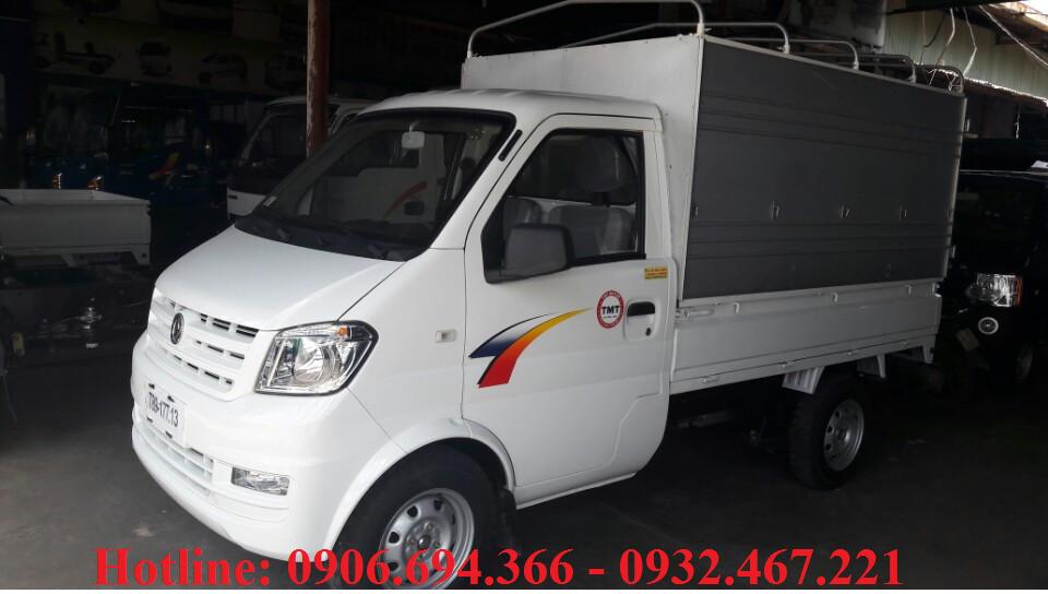 Bán xe tải Cửu Long TMT 700kg/ 900kg/ 1250kg thùng bạt giá cạnh tranh
