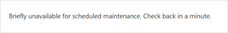 maintenance files cause WordPress issues