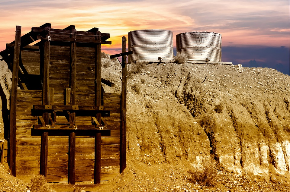 mining silos and gold