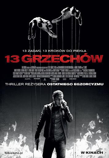 Polski plakat filmu '13 Grzechów'