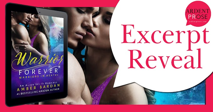 Excerpt  Reveal - Warrior Forever by Amber Bardan