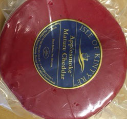 Isle of Kintyre Applesmoke Mature Cheddar - 900 gram