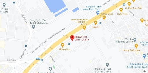 Địa chỉ văn phòng nhà xe Tiến Oanh tại Sài Gòn