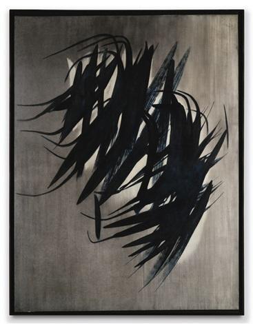 Hans Hartung, T1956-13, 1956, acrylique sur toile adjugée 2250000 euros par Sotheby's Paris en 2017