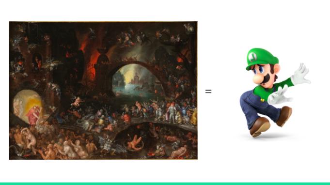 Luigi's Mansion Dante's Inferno - prophet or messiah??
