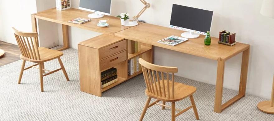 Bàn làm việc nên làm bằng gỗ gì?
