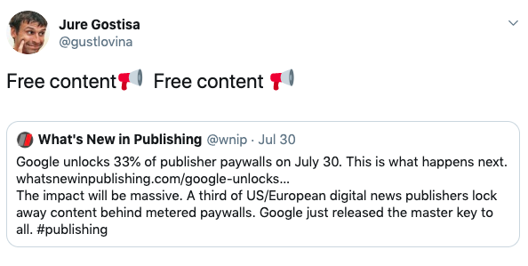 of a print publisher: Highlights from WAN-IFRA report
