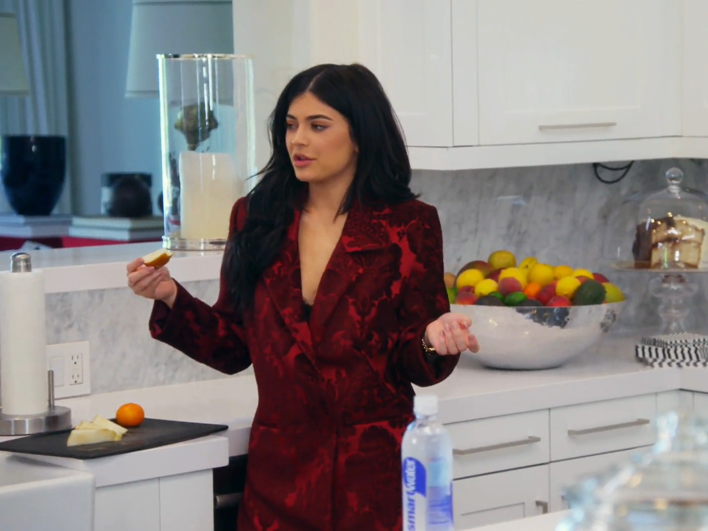Kylie's home look