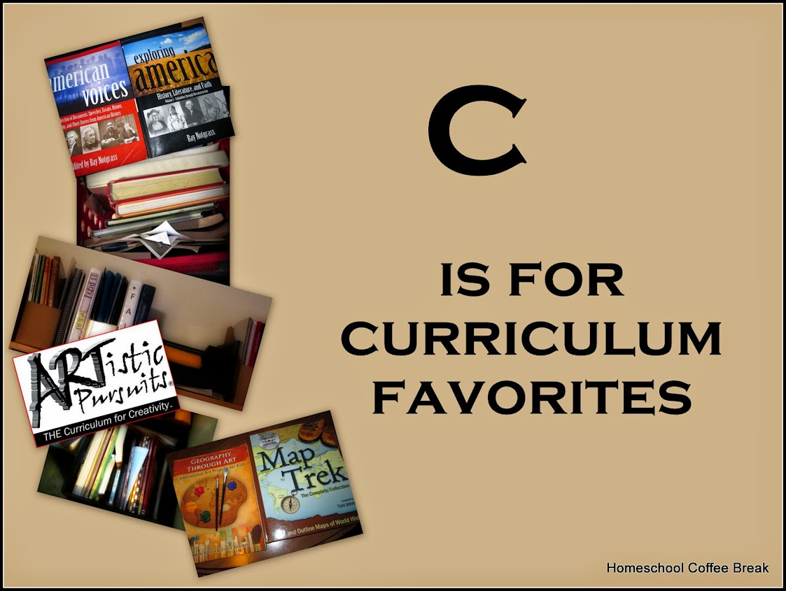 C is for Curriculum Favorites