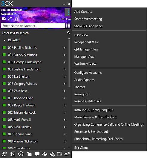 Using The 3cx App For Windows Controlling Your Calls From Your Desktop