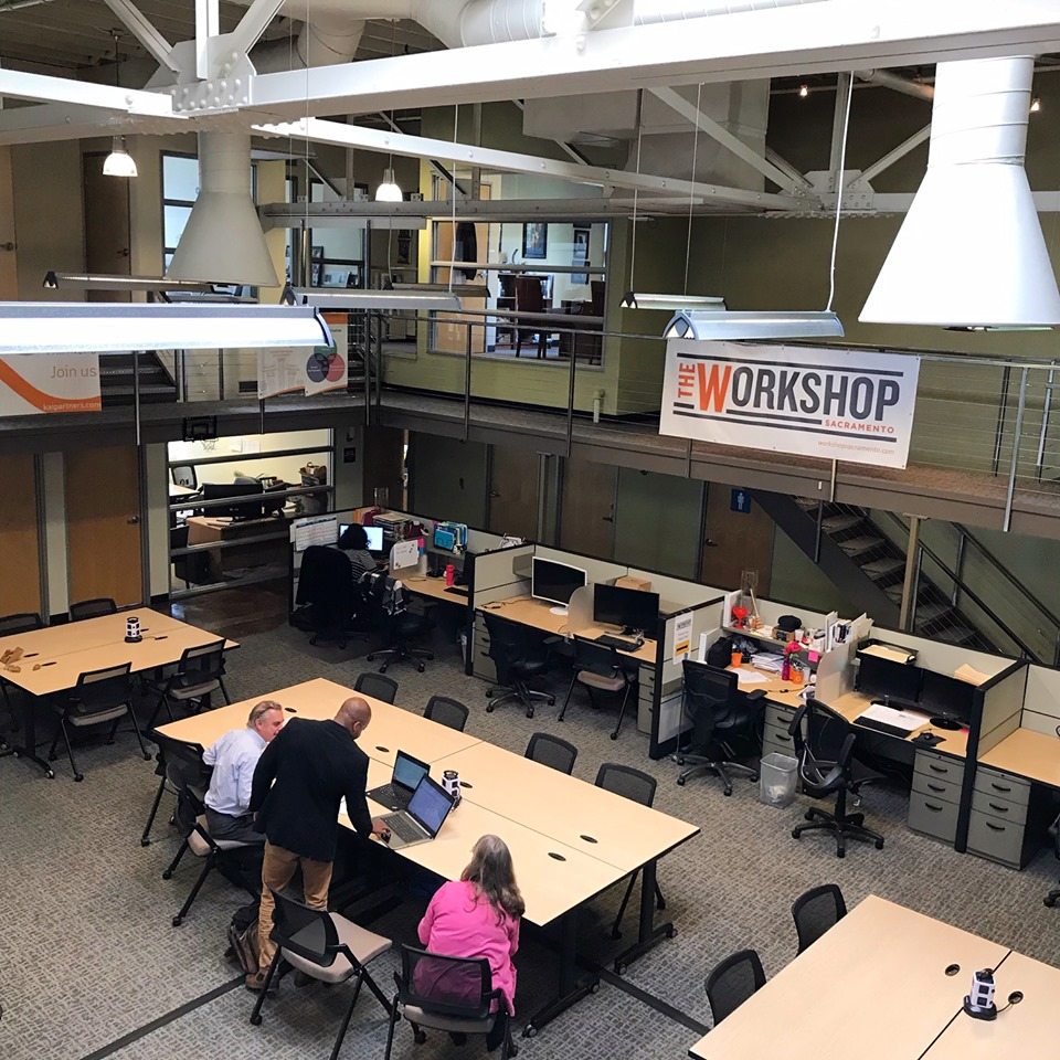 The Workshop Coworking Space in Sacramento