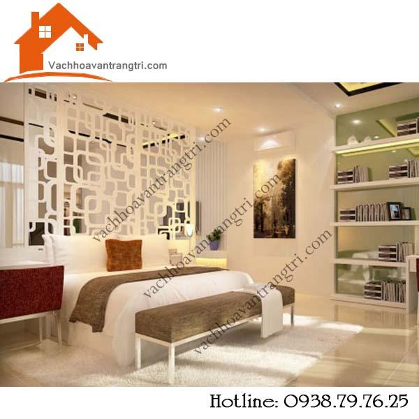 Vách ngăn phòng ngủ bằng gỗ đẹp, giá rẻ tại TP. Hồ Chí Minh