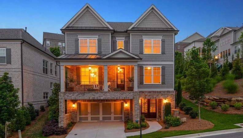 Home in Highpointe at Vinings neighborhood of Smyrna, GA.