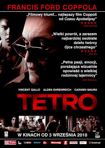 Przód ulotki filmu 'Tetro'