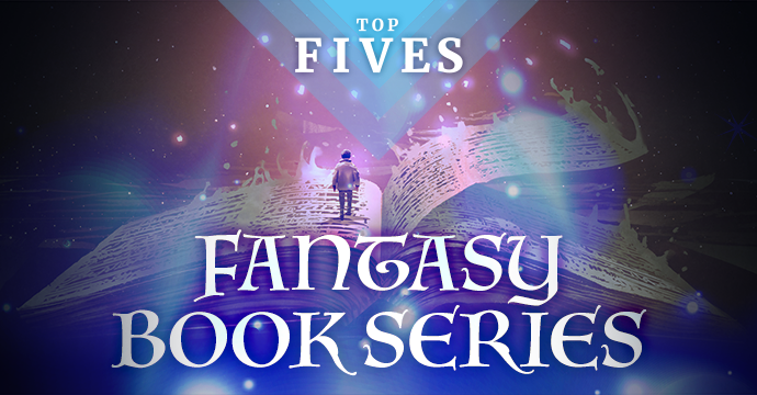 top five fantasy book series