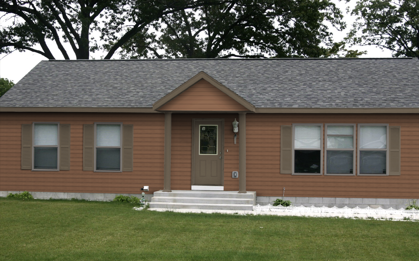 clay color siding