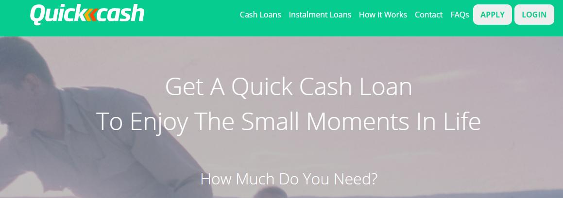 quick cash online application form