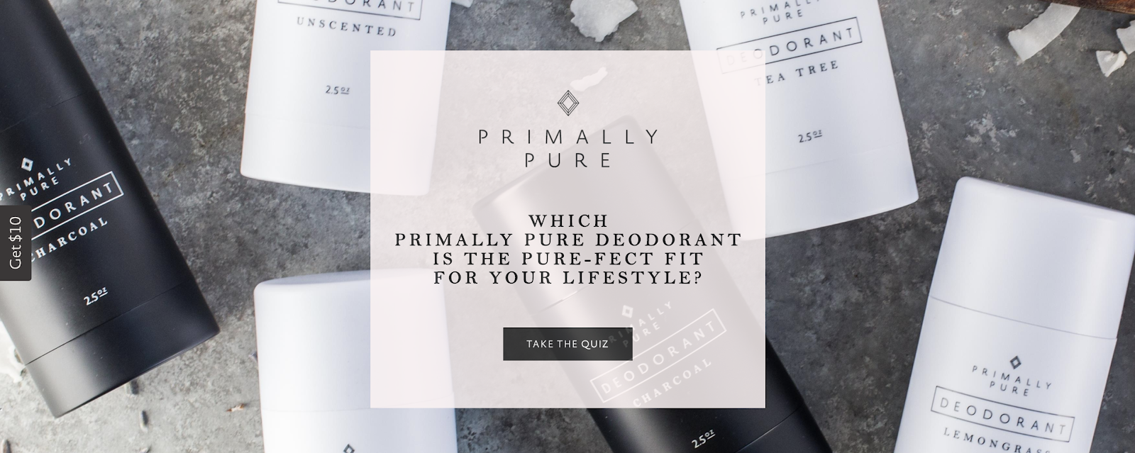 Primally Pure product recommendation quiz cover