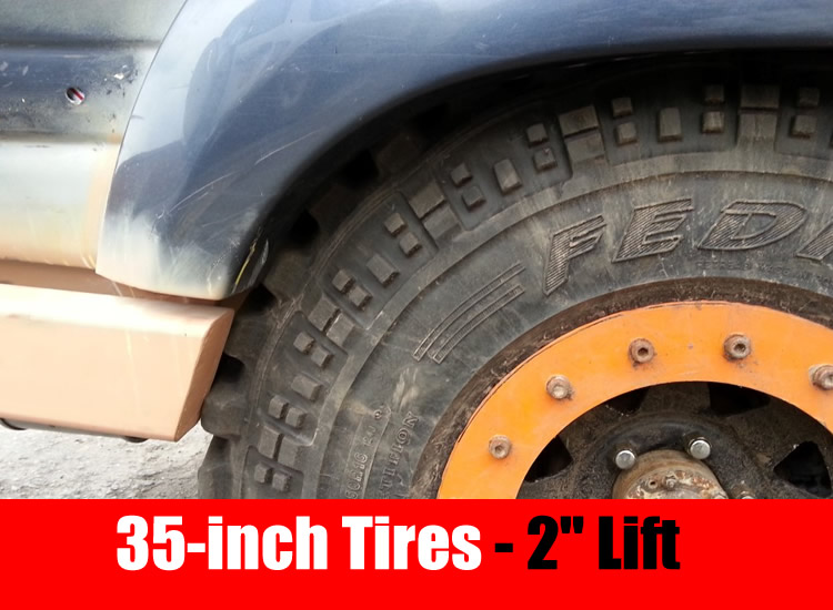 35-inch tires