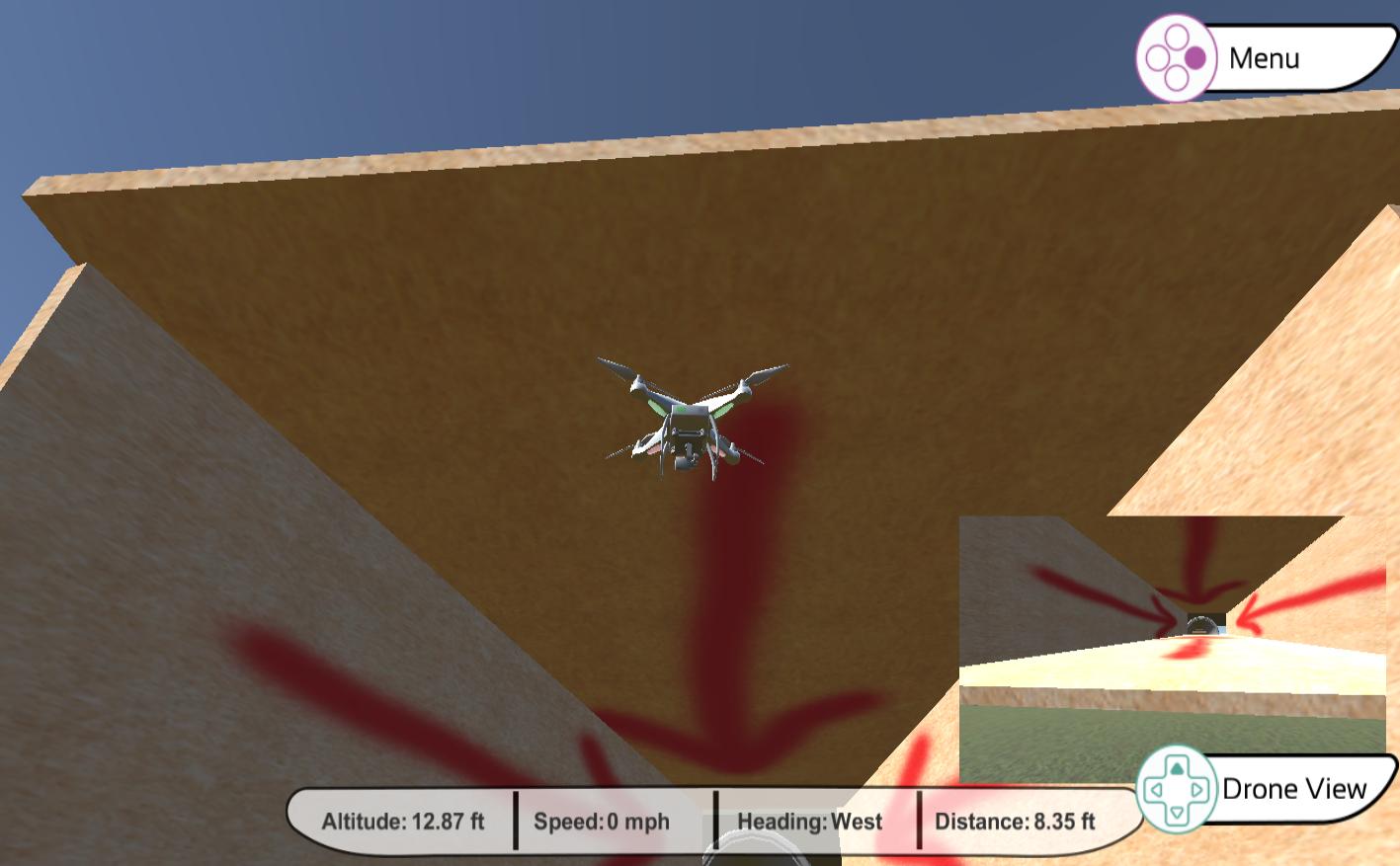 droneSimPro Quadcopter Simulator