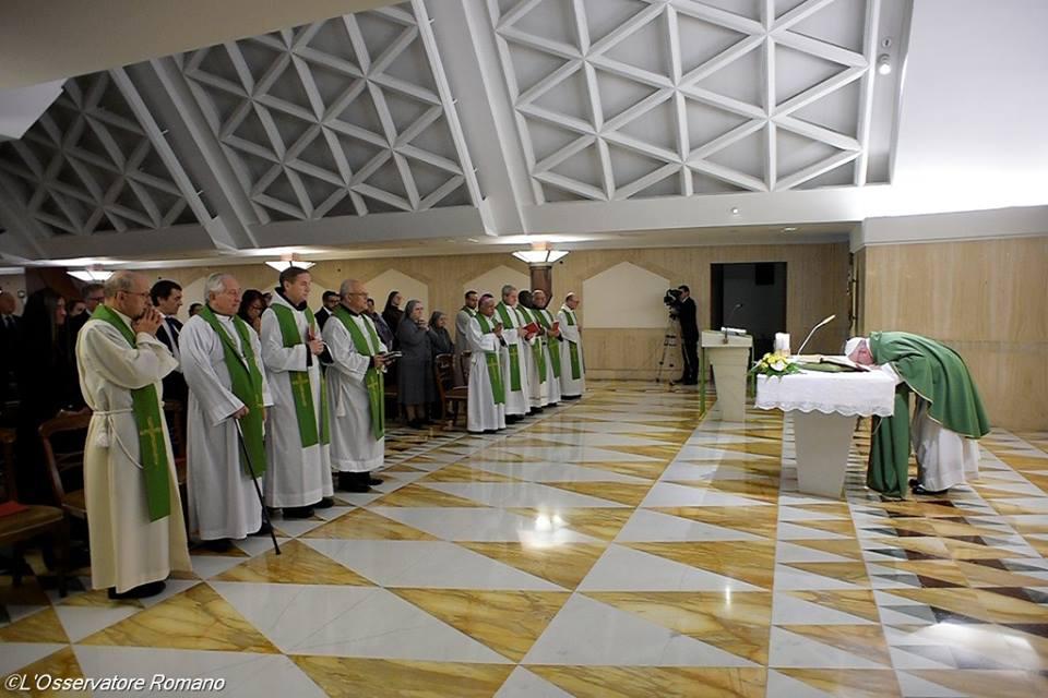 Bài giảng Lễ sáng của Đức Thánh Cha: Sự thờ ơ không biết tận hưởng những cái đẹp của Thiên Chúa