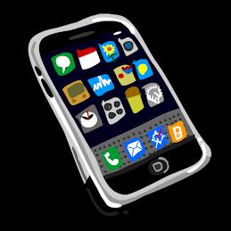 [Bức ảnh là một bản vẽ của một chiếc iphone với nhiều ứng dụng điện thoại.]