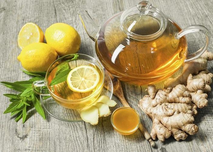 Trà gừng mật ong thơm ngon tốt cho sức khỏe