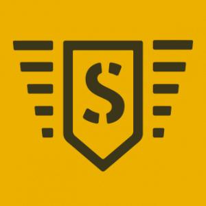 Gráfico. A imagem mostra a logomarca da SODE, uma empresa que oferta o serviço de motoboy para outras empresas.