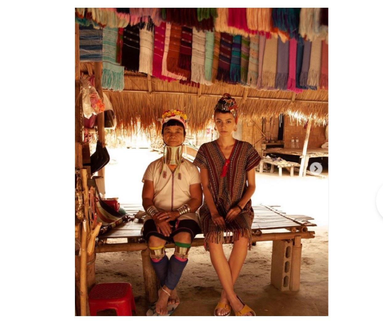 Dân tộc cổ dài Padong
