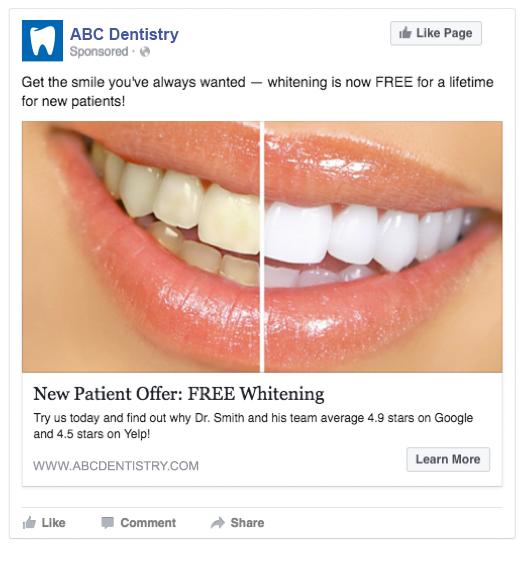 ABC Dentistry FB Ad