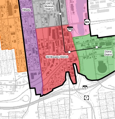 Downtown Tacoma, Washington (South) Sub-Area Plan