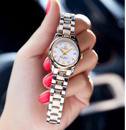 waterproof mechanical watch for women