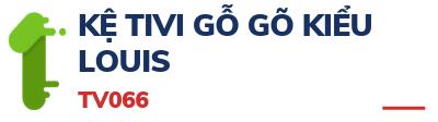 KỆ TIVI GỖ GÕ KIỂU LOUIS - TV066
