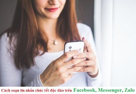 Cách soạn tin nhắn chúc tết 2019 độc đáo