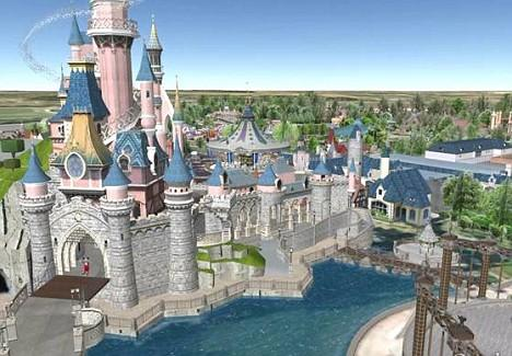 Disneyland Paris goes virtual with Google Earth visits to the theme park |  Daily Mail Online