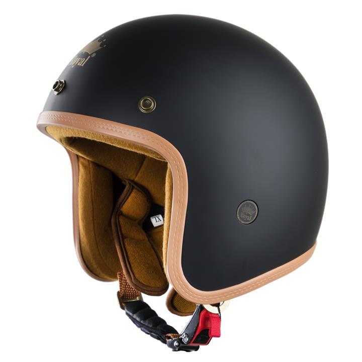 Mũ bảo hiểm 3/4 bảo vệ đầu an toàn hơn trong mọi chuyến đi