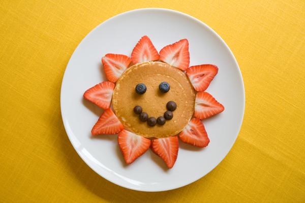 Smiley Face Pancake