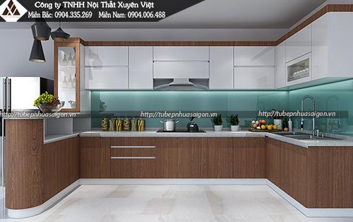 Các loại tủ bếp phổ biến trên thị trường hiện nay hình 5