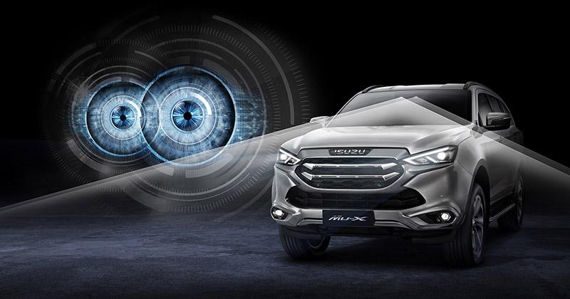 ระบบความปลอดภัยของรถยนต์ : All New Isuzu Mu-X