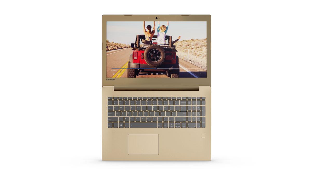 Фото 2 - Ноутбук Lenovo IdeaPad 520-15IKB Golden (81BF00EPRA)