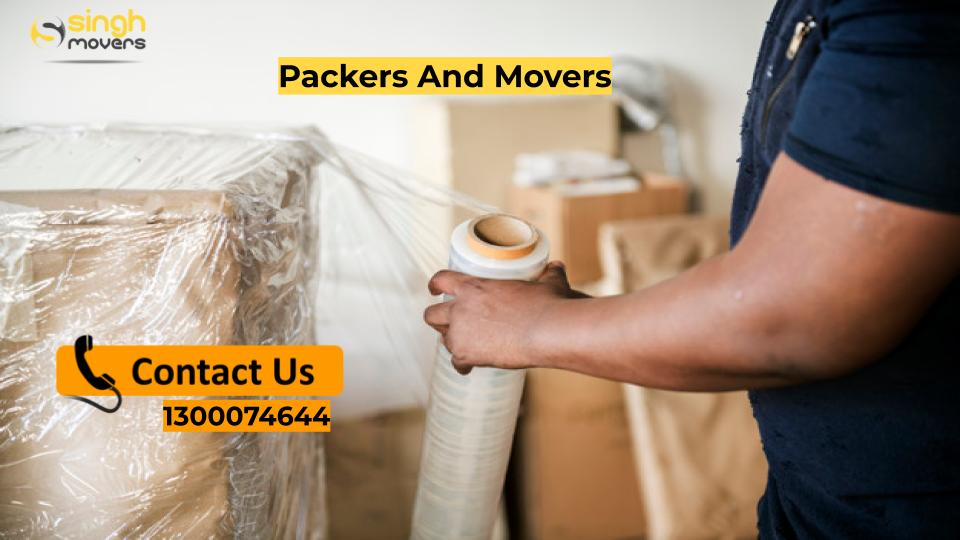 Singh Movers packers Expert pack the box