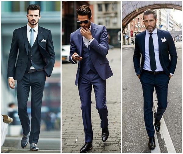 Cách chọn màu giày tây phù hợp với màu trang phục vest ăn ý nhất.