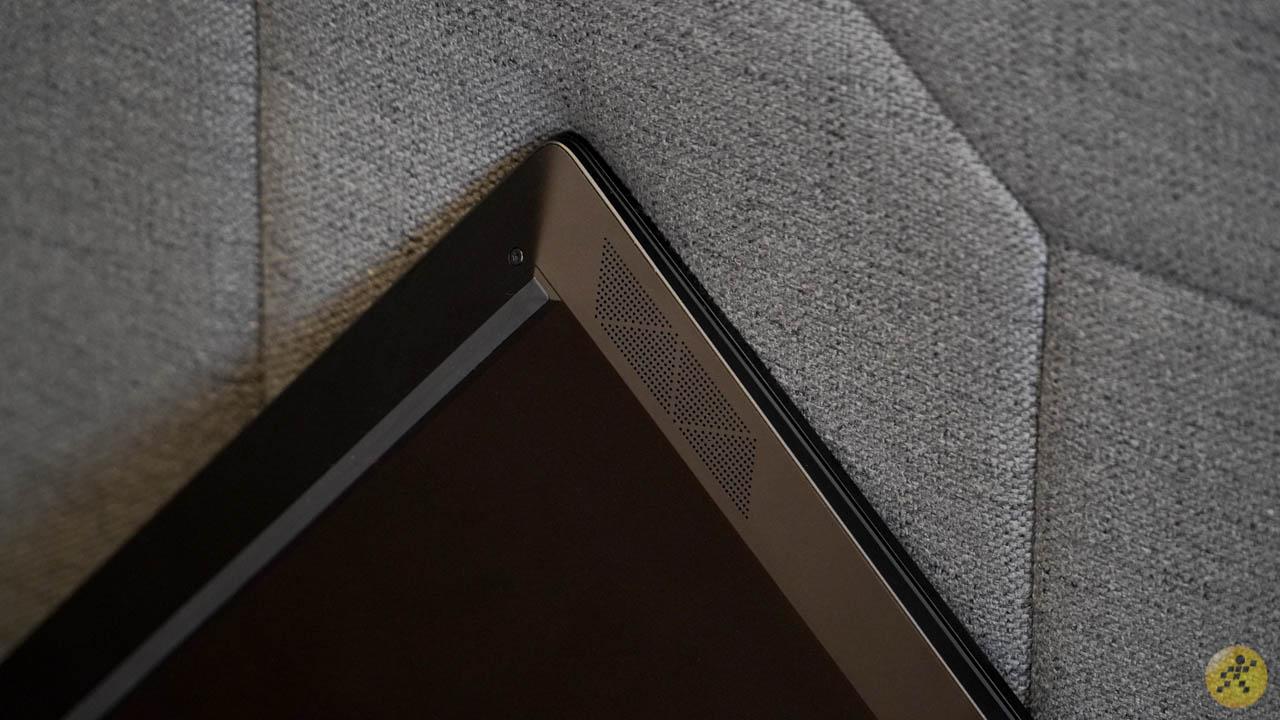 Thiết kế loa trên HP X360 13
