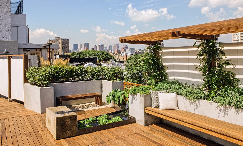 Thiết kế sân thượng ngày càng được chú trọng đối với mỗi công trình