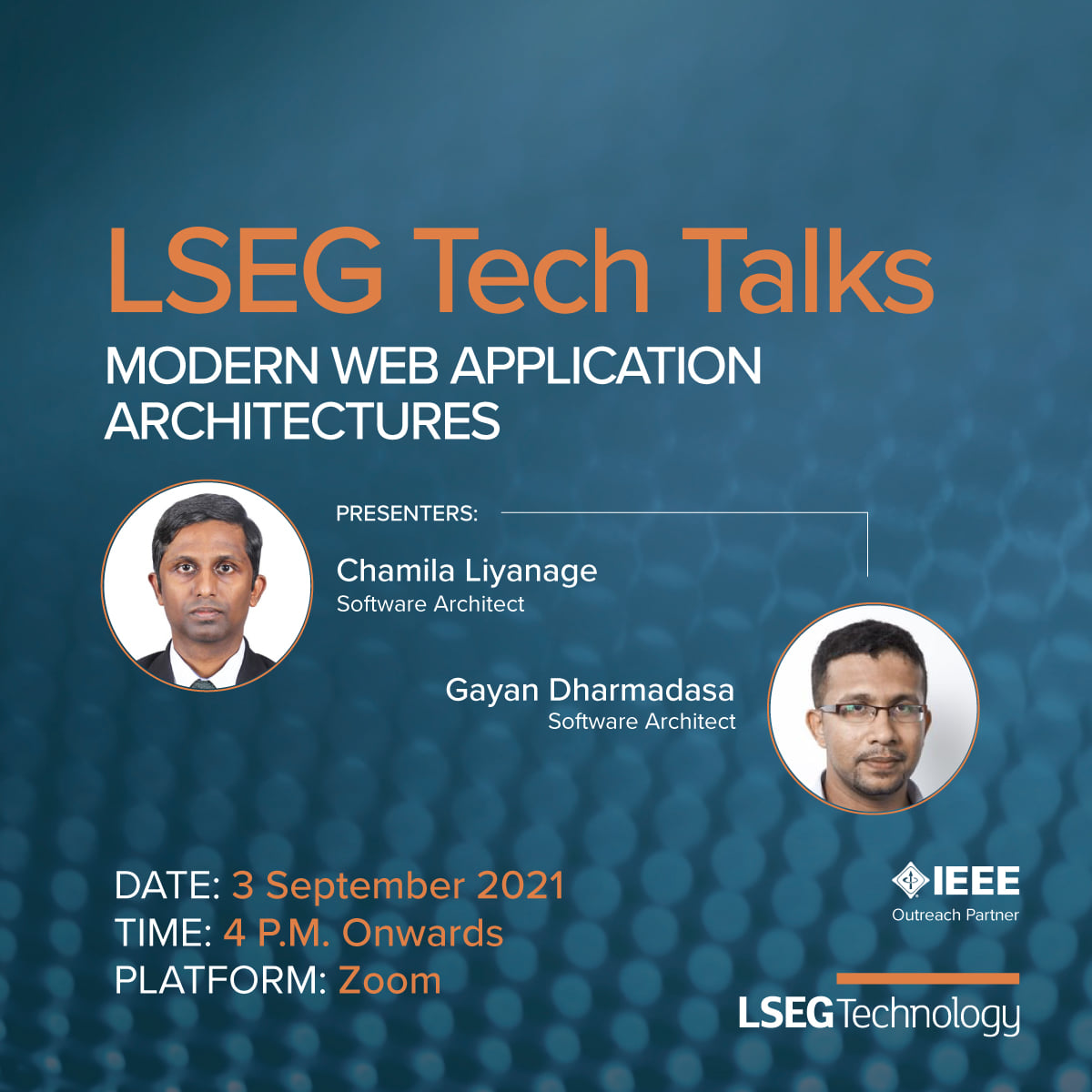 Explore How You Can Build Modern Web Applications at the Upcoming Session of LSEG Tech Talks 1