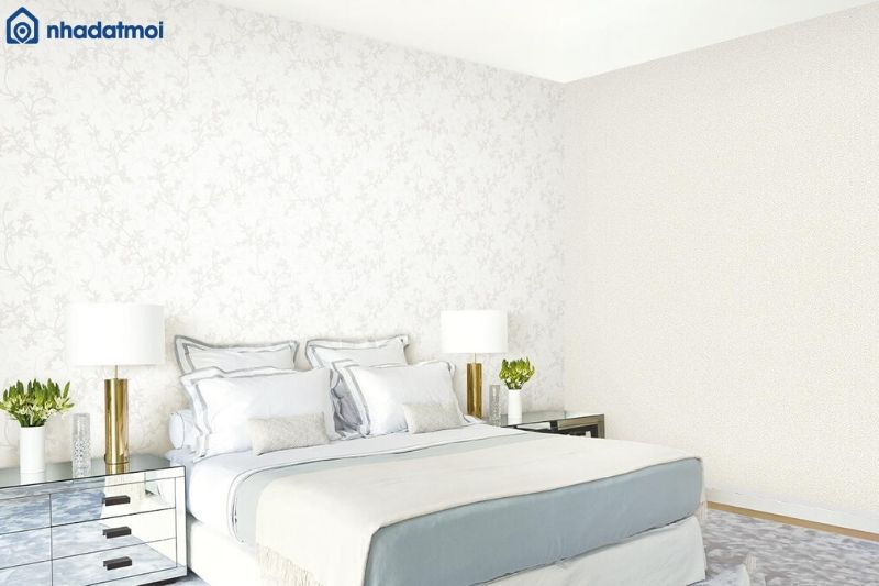 Trang trí phòng ngủ bằng giấy dán tường mang đậm phong cách của người sở hữu căn phòng