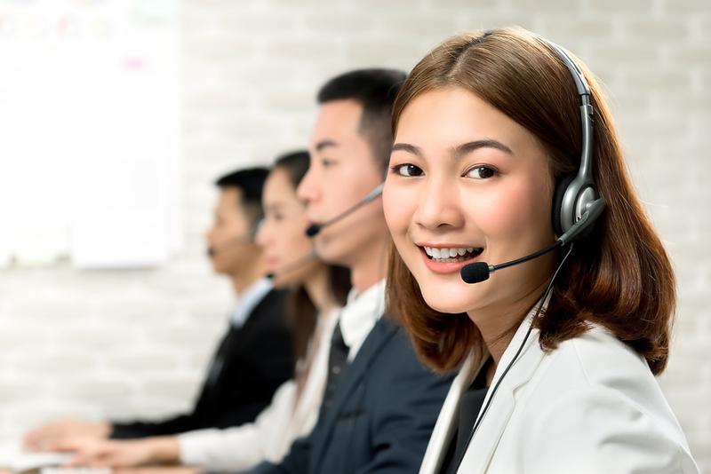 Đội ngũ nhân viên tư vấn khách hàng chuyên nghiệp