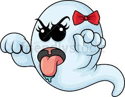 Image result for ghost scary pic cartoon